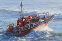 Coastguard rescue vessel
