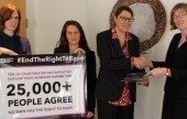 IWDA Petition Delivered to the UN
